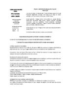 Conseil Municipal 30-01-2020